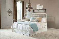 white metal bed beds