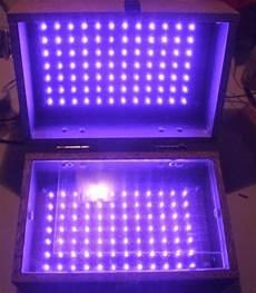Uv Light Box For Cyanotypes Led Uv Exposure Box Part 1 The Box Electro Bob