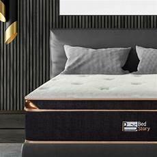 bedstory 12 inch gel infused memory foam hybrid mattress