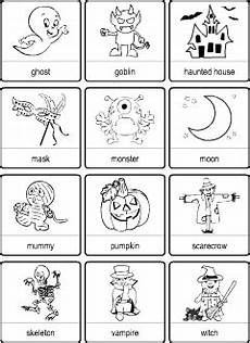 Halloween Vocabulary For Kids Learning English Picture