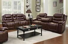 ottawa 2 bonded leather reclining living room sofa