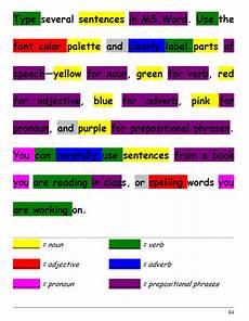 Color Coded Grammar Chart 32 Color My Grammar Ask A Tech Teacher