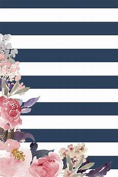 Navy Floral Iphone Wallpaper by Hello August Free Wallpaper Backgrounds Santos
