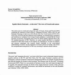 Thesis Proposal Template Word 11 Dissertation Proposal Templates Doc Excel Pdf