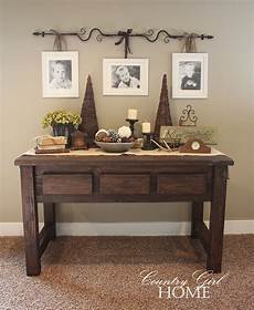 country home my new quot crafted quot sofa table
