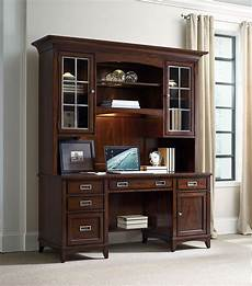 credenza hutch latitude brown computer credenza with hutch from