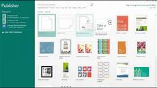 Template For Publisher How To Create A Poster Using Microsoft Publisher Youtube
