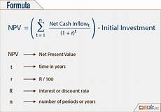 Net Present Value Calculator Download Net Present Value Formula Calculator Gantt