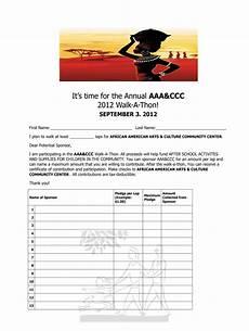 Walk A Thon Pledge Sheet Walk A Thon Pledge Form Fill Online Printable Fillable