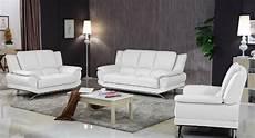modern leather sofa set white matisseco