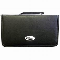 cases for cd neo media cd dvd wallet leather storage carry case for 48