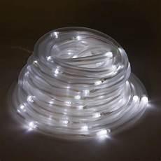 Solar Rope Lights Greenlighting 100 Light 32 Ft Solar Powered Integrated
