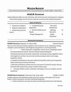 Hvac Project Manager Resumes Hvac Technician Resume Sample Monster Com