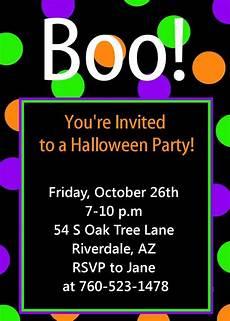 Sample Halloween Invitations Halloween Party Invitation Printable