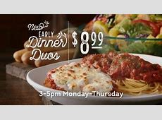 Olive Garden Never Ending Pasta Bowl TV Commercial, 'We're