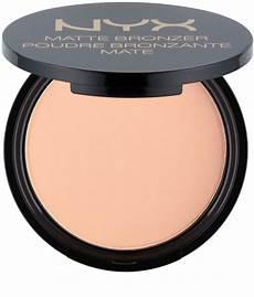 Nyx Professional Makeup Matte Bronzer Light Nyx Professional Makeup Matte Bronzer Bronzer Notino De