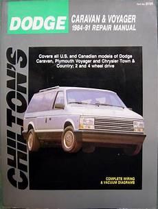 Dodge Caravan Repair Manual