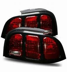 Ford Mustang Euro Lights 1994 1998 Ford Mustang Euro Altezza Lights Red