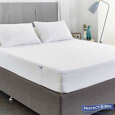 protect a bed waterproof cotton terry fitted mattress