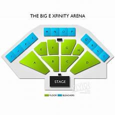 Big E Arena Seating Chart The Big E Xfinity Arena Seating Chart Vivid Seats