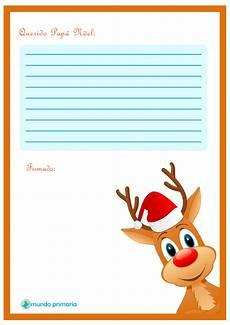 Cartas Para Papa Noel Carta De Rudolf Para Enviar A Papa Noel Lista Para Imprimir