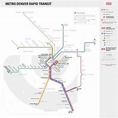 Colombo Light Rail Route Map Unofficial Future Map Metro Denver Rapid Transit By Steve