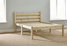 somerset 4ft 6 solid pine heavy duty bed frame