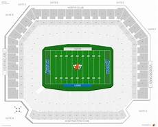 Ford Stadium Seating Chart Detroit Lions Seating Guide Ford Field Rateyourseats Com
