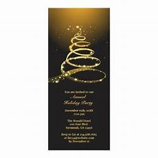 Annual Holiday Party Invitation Template Annual Holiday Party Invitation Zazzle