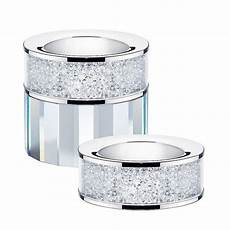 Minera Tea Light Holder Tea Light Holder Filled With Swarovski Crystals By Diamond
