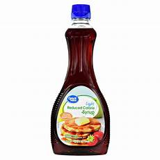 Light Syrup For Canning Great Value Light Syrup Reduced Calorie 24 Oz Walmart Com