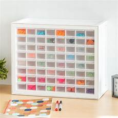 64 drawer craft cabinet the container store