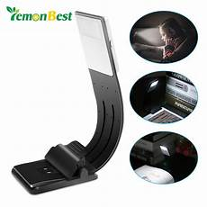 Best Clip On Book Reading Light Aliexpress Com Buy Led Usb Charge Book Lights Dimmable