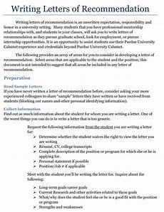 Internship Recommendation Letter Sample 15 Sample Recommendation Letters For Internship And