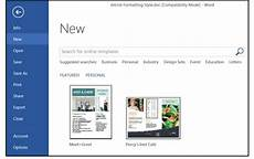 Create Microsoft Word Templates How To Use Modify And Create Templates In Word Pcworld