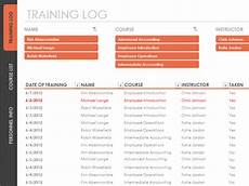 Training Tracker Excel Template Download Employee Training Tracker Spreadsheet Template