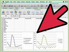 How To Create A Breakeven Chart How To Do A Break Even Chart In Excel 15 Steps