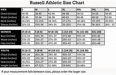 Russell Athletic Jersey Size Chart Black Bowdoin College Tee From Russell The Bowdoin Store