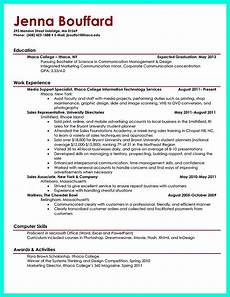 How To Write A Resume For Students With No Experience Current College Student Resume Is Designed For Fresh