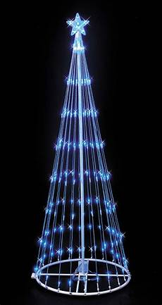 Wire Christmas Tree With Led Lights Blue Led Lightshow Tree