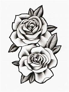 Rose Designs Rose Black And White Outline Free Download On Clipartmag