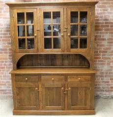 reclaimed hutch in chestnut brown finish ecustomfinishes