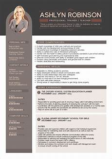 Best Designed Resume Free Premium Professional Resume Cv Design Template With