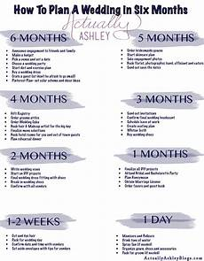 Wedding Plan Timeline Checklist Wedding Planning How To Plan A Wedding In Six Months