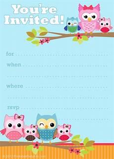 Free Printable Kids Birthday Invitations 41 Printable Birthday Party Cards Amp Invitations For Kids