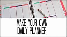 Make Your Own Weekly Planner How To Use A Daily Planner Effectively Sparkles Of Sunshine
