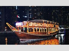 Dinner in Dhow Cruise at Exotic Dubai Marina by Saifco