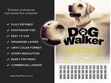 Dog Walker Flyers Professional Dog Walker Flyer Template Flyerheroes