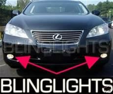 2007 Lexus Es 350 Light Bulb Replacement 2007 2009 Lexus Es350 Fog Lamps Lights Es 350 Driving 2008