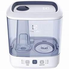 umidificador de limpeza umidificador de ar electrolux um04e painel touch branco